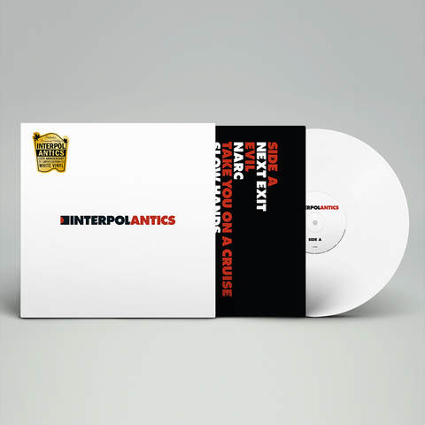 Interpol 'Antics: 15th Anniversary Revisionist History Edition' LP
