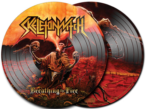 Skeletonwitch 'Breathing The Fire' Picture Disc LP