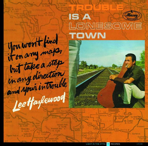 Lee Hazlewood 'Trouble Is A Lonesome Town' 2xLP