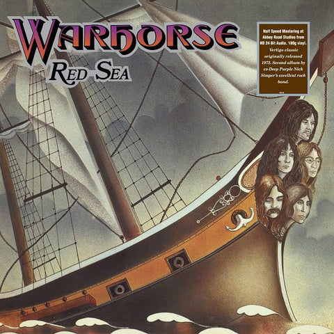 Warhorse 'Red Sea' LP