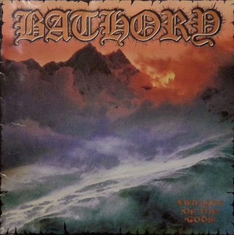 Bathory 'Twilight Of The Gods' 2xLP