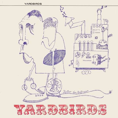 Yardbirds 'Roger The Engineer' LP (Mono Version)