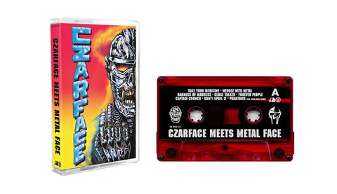 Czarface & MF DOOM 'Czarface Meets Metal Face' Cassette