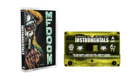 Czarface & MF DOOM 'Czarface Meets Metal Face: Instrumentals' Cassette