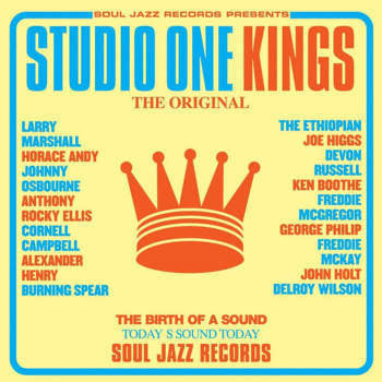 Various 'Studio One Kings' 2xLP