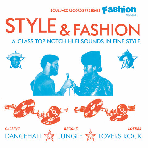 Various 'Soul Jazz Records Presents Fashion Records: Style & Fashion' 3xLP