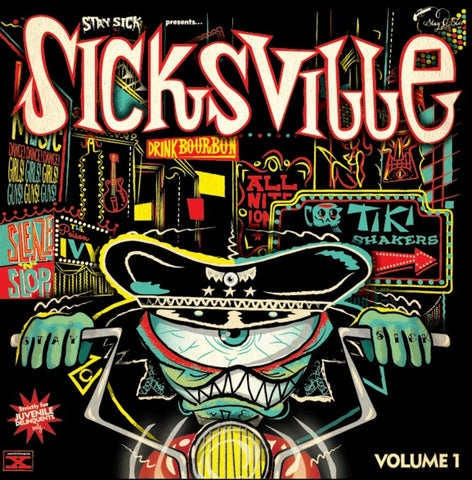 Various 'Stay Sick Presents Sicksville Volume 1' 10""
