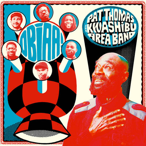 Pat Thomas & Kwashibu Area Band 'Obiaa!' 2xLP