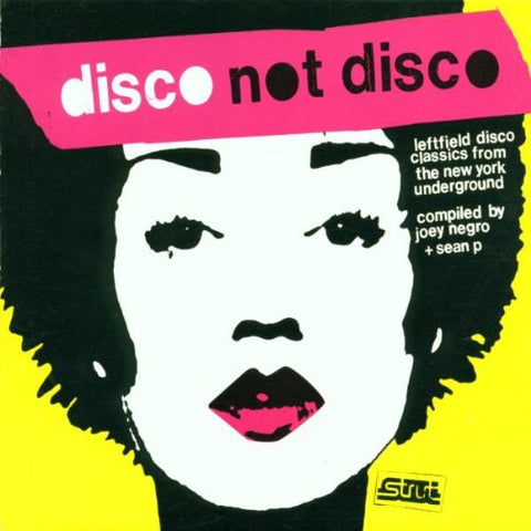 Various 'Disco not DIsco' 3xLP