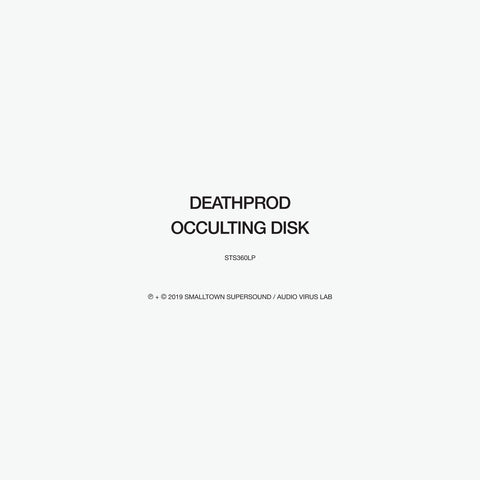 Deathprod 'Occulting Disk' 2xLP