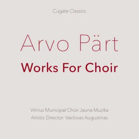 Arvo Part 'Works For Choir' 2xLP