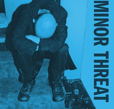 Minor Threat 'Minor Threat' LP (Blue Vinyl Reissue)