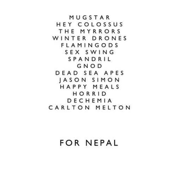 Various 'For Nepal' 2xLP