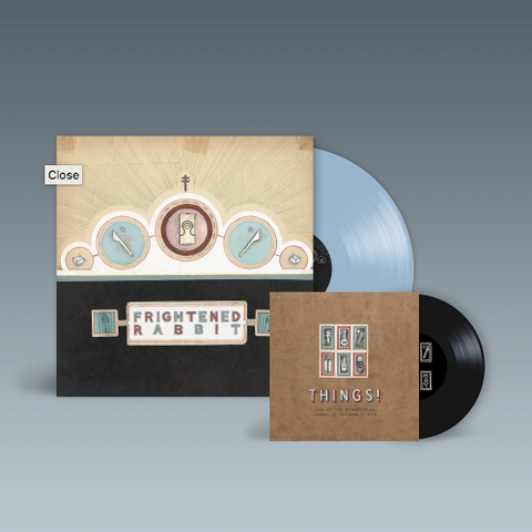 """Frightened Rabbit 'The Winter Of Mixed Drinks (10th Anniversary Edition)' LP + 7"""""""