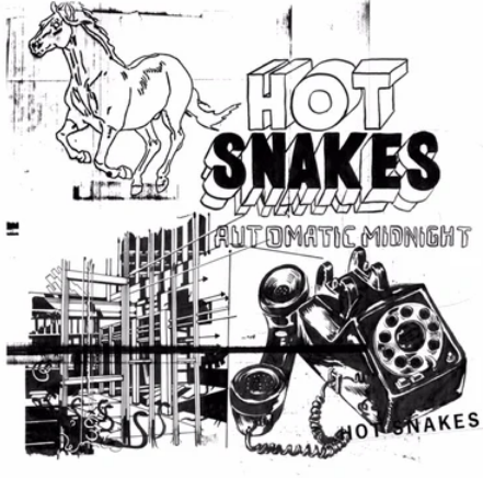 Hot Snakes 'Automatic Midnight' LP