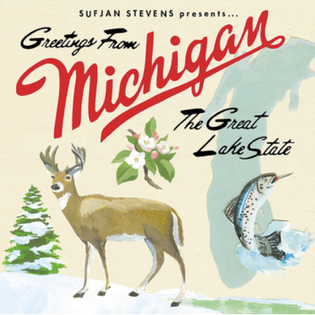 Sufjan Stevens 'Michigan' LP