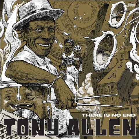 Tony Allen 'There Is No End' 2xLP