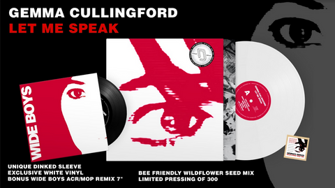 Gemma Cullingford 'Let Me Speak' LP