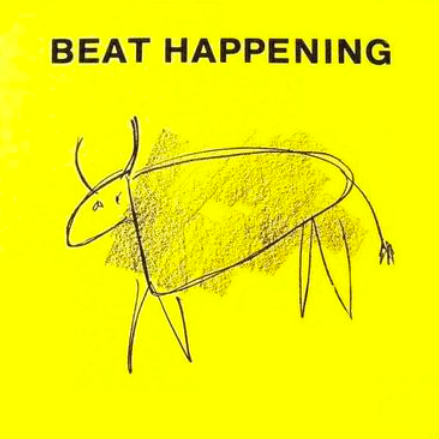 Beat Happening 'Crashing Through' 2x7""
