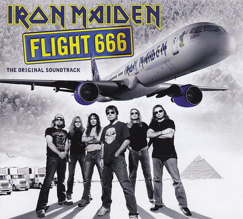 Iron Maiden 'Flight 666' 2xLP