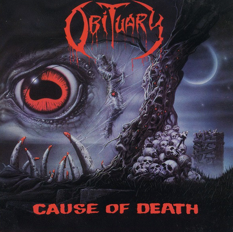 Obituary 'Cause Of Death' LP