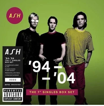 "Ash ''94 - '04 - The 7"" Singles Box Set' 10x7"""