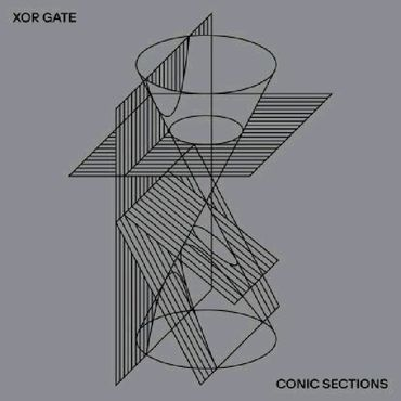 XOR Gate 'Conic Sections' 12""