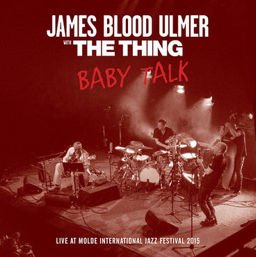 James Blood Ulmer with The Thing 'Baby Talk' LP