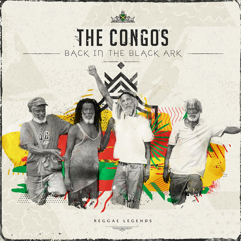 The Congos 'Back In The Black Ark' 2xLP
