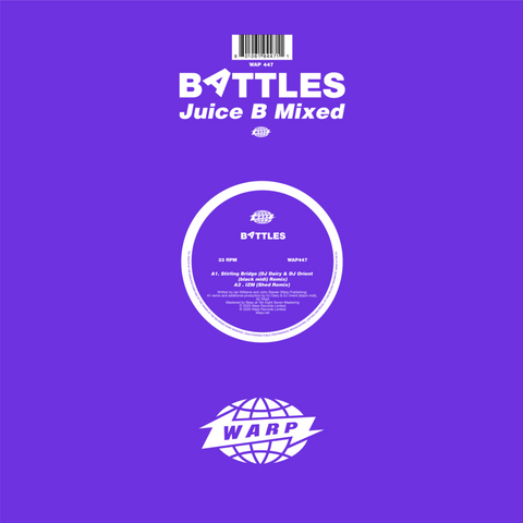Battles 'Juice B Mixed' 12""