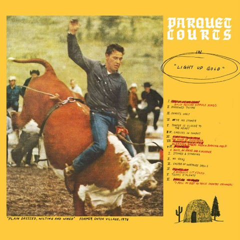 Parquet Courts 'Light Up Gold' LP
