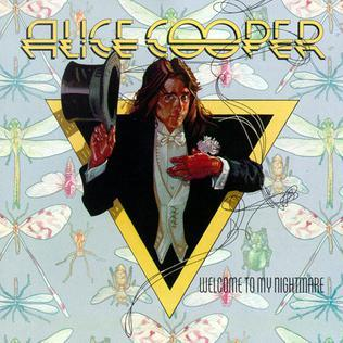 Alice Cooper 'Welcome To My Nightmare' LP