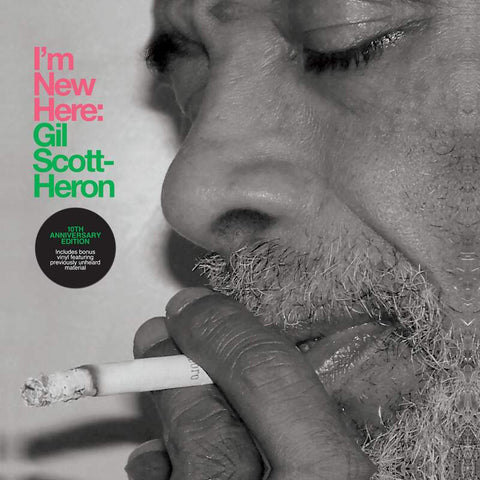 Gil Scott-Heron 'I'm New Here (10th Anniversary Expanded Edition)' 2xLP