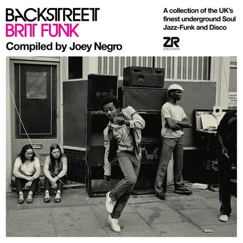 Various 'Backstreet Brit Funk Vol. 1 - compiled by Joey Negro' 2xLP