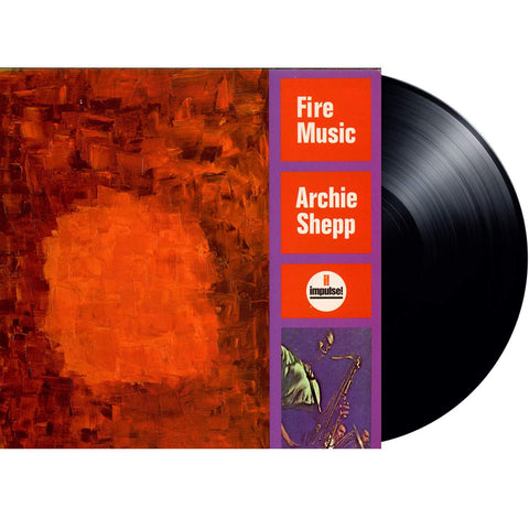 Archie Shepp 'Fire Music' LP