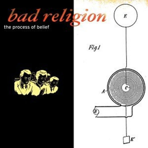 Bad Religion 'The Process of Belief' LP