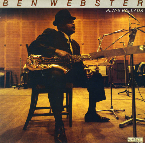 Ben Webster 'Ben Webster Plays Ballads' LP