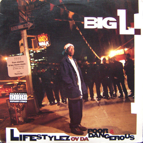 Big L 'Lifetstylez Ov Da Poor & Dangerous' 2xLP