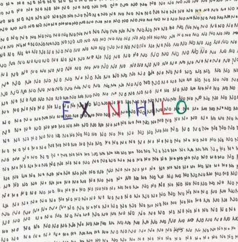 Cover art for 'Ex Nihilo' by Binker Golding and Elliot Galvin