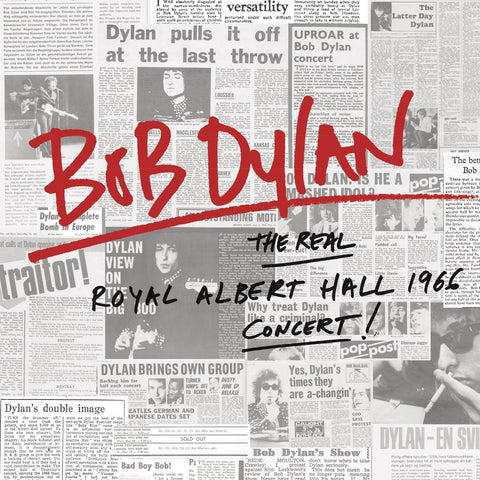 Bob Dylan 'The Real Royal Albert Hall 1966 Concert' 2xLP