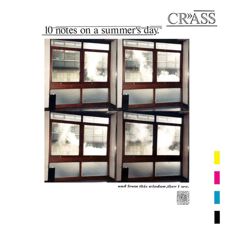 Crass 'Ten Notes On A Summer's Day' LP