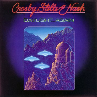 Crosby, Still & Nash 'Daylight Again' LP