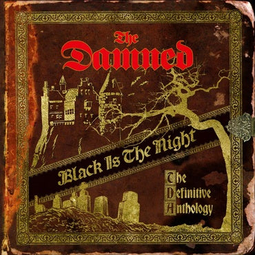 The Damned 'Black Is The Night (The Definitive Anthology)' 4xLP