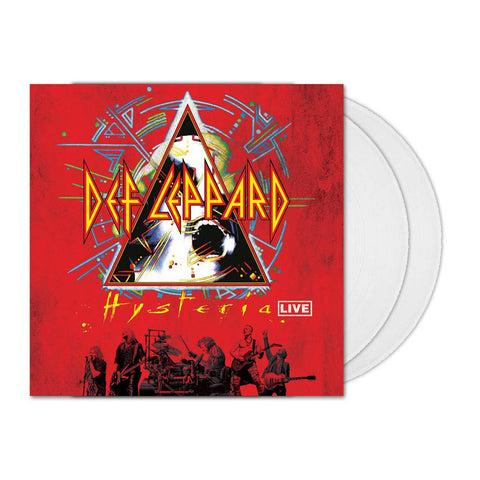 Def Leppard 'Hysteria Live' 2xLP