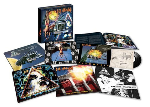 Def Leppard 'The Vinyl Box Set: Volume 1' 8xLP + 7""