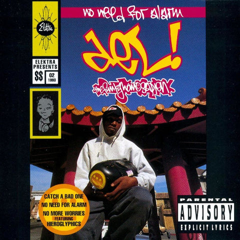 Del The Funky Homosapien 'No Need For Alarm' LP