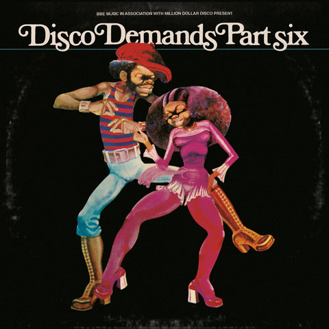 Al Kent 'Disco Demands Part 6' 3xLP