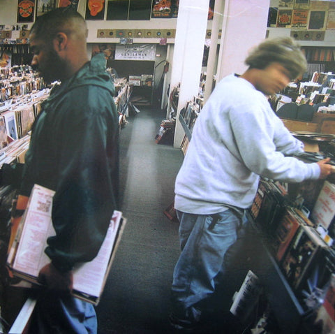 DJ Shadow 'Entroducing' 2xLP