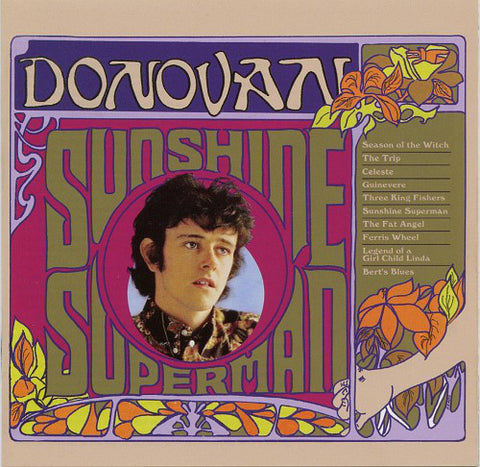 Donovan 'Sunshine Superman' LP