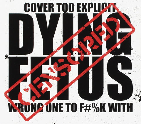 Dying Fetus 'Wrong One To Fuck With' 2xLP